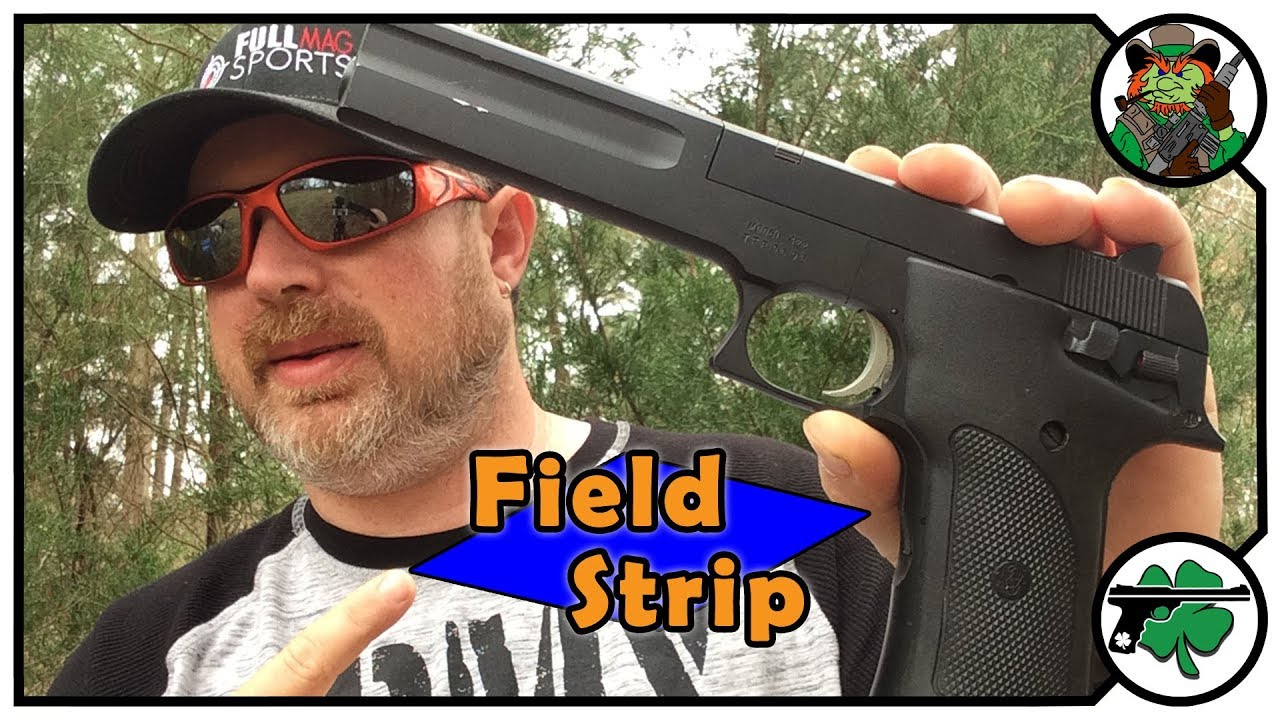 Smith & Wesson 422 22lr Pistol QUICK Field Strip
