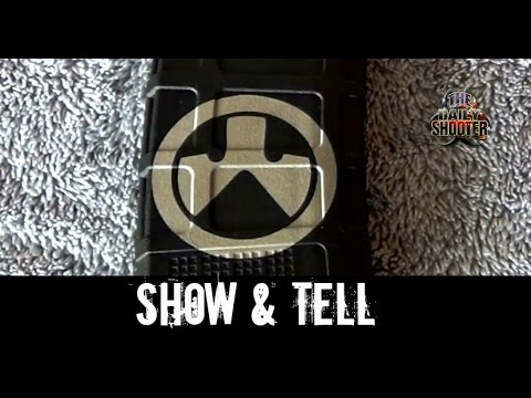 Magpul Pmag Laser Etched logo Show & Tell
