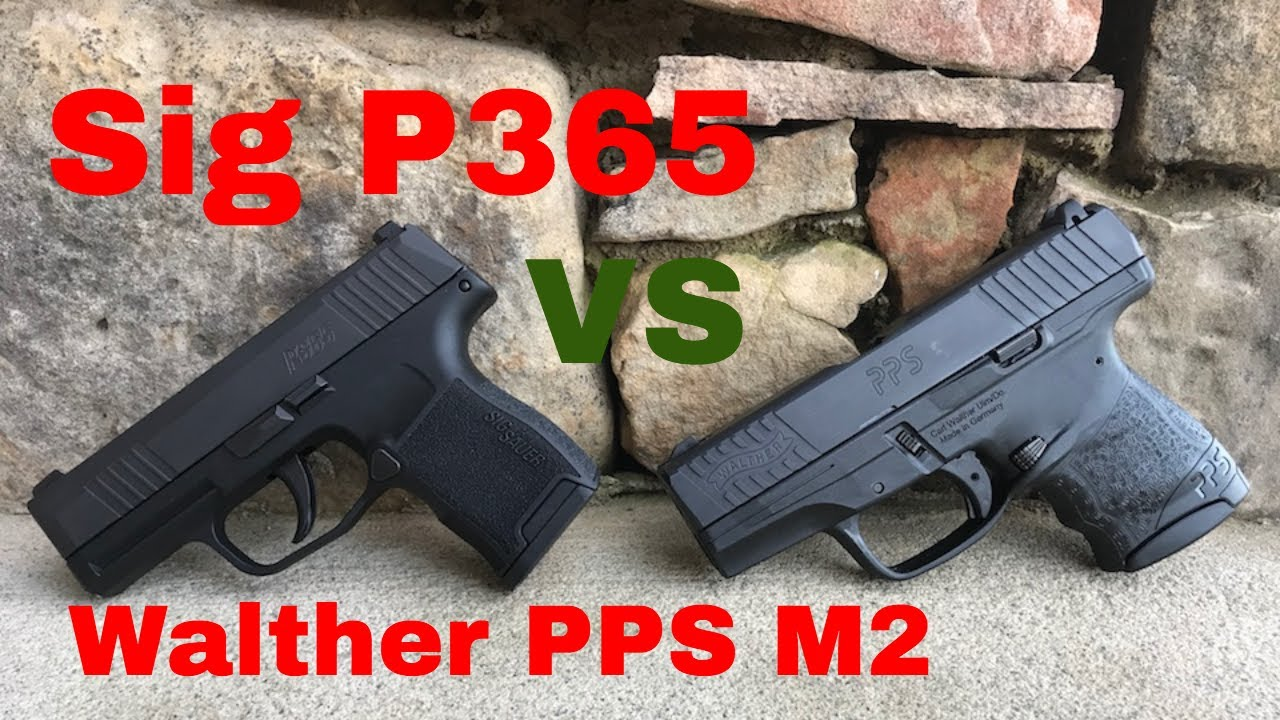 Sig P365 vs Springfield XDs Size and Trigger Comparision