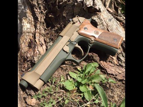 Beretta 92FS Test Fire