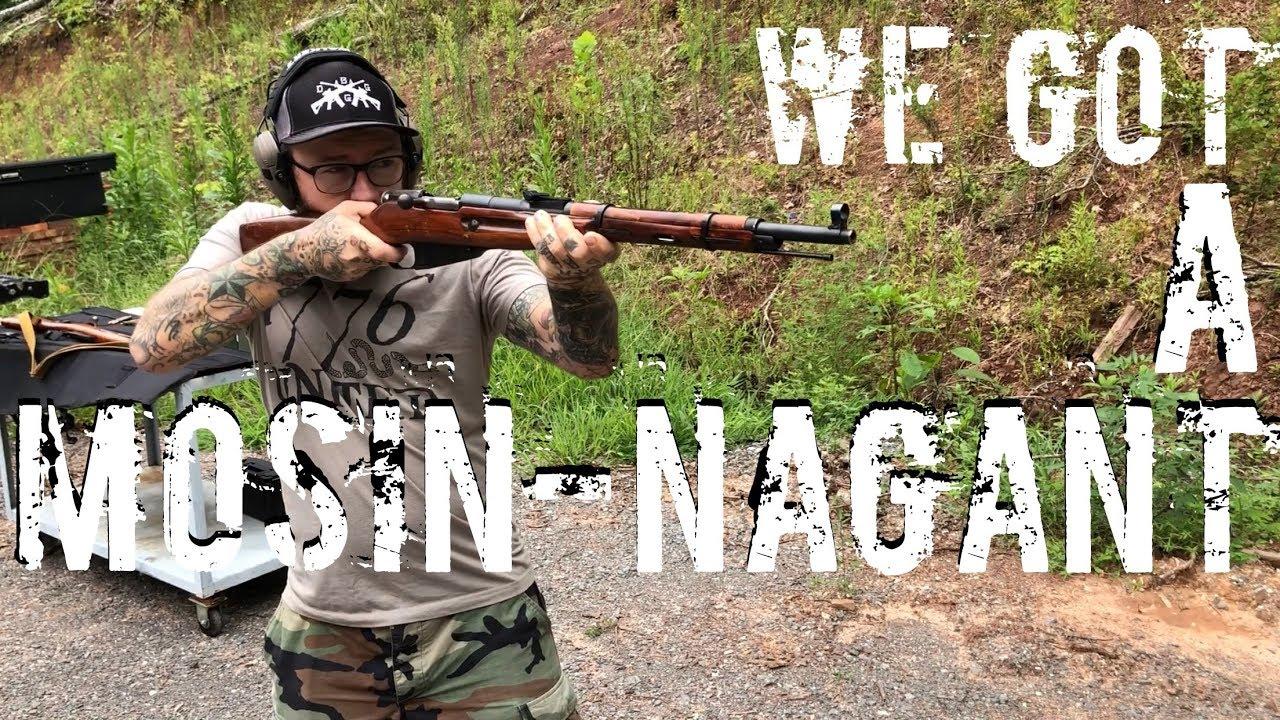We got A Mosin-Nagant