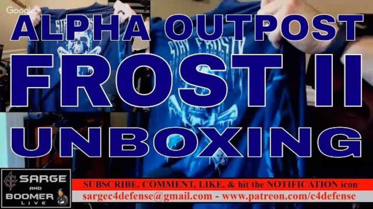 Alpha Outpost FROST II Unboxing