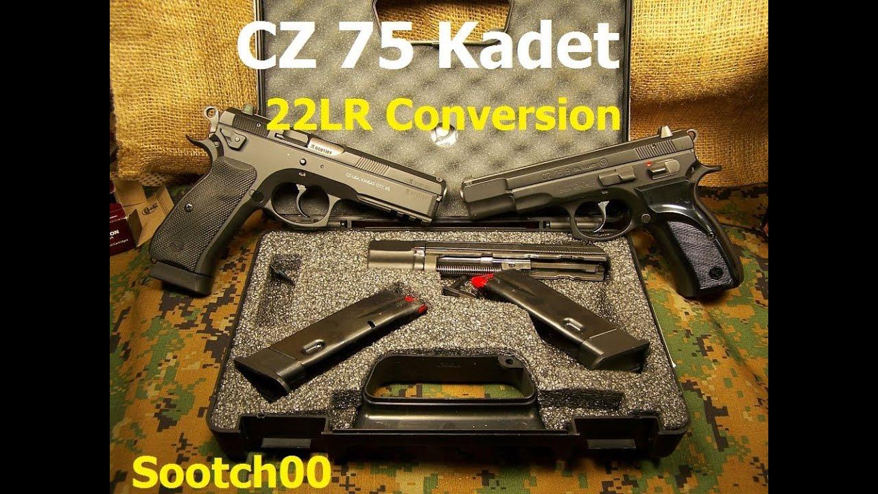 CZ 75 Kadet 22lr Pistol