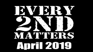 Every 2nd Matters - April 2019