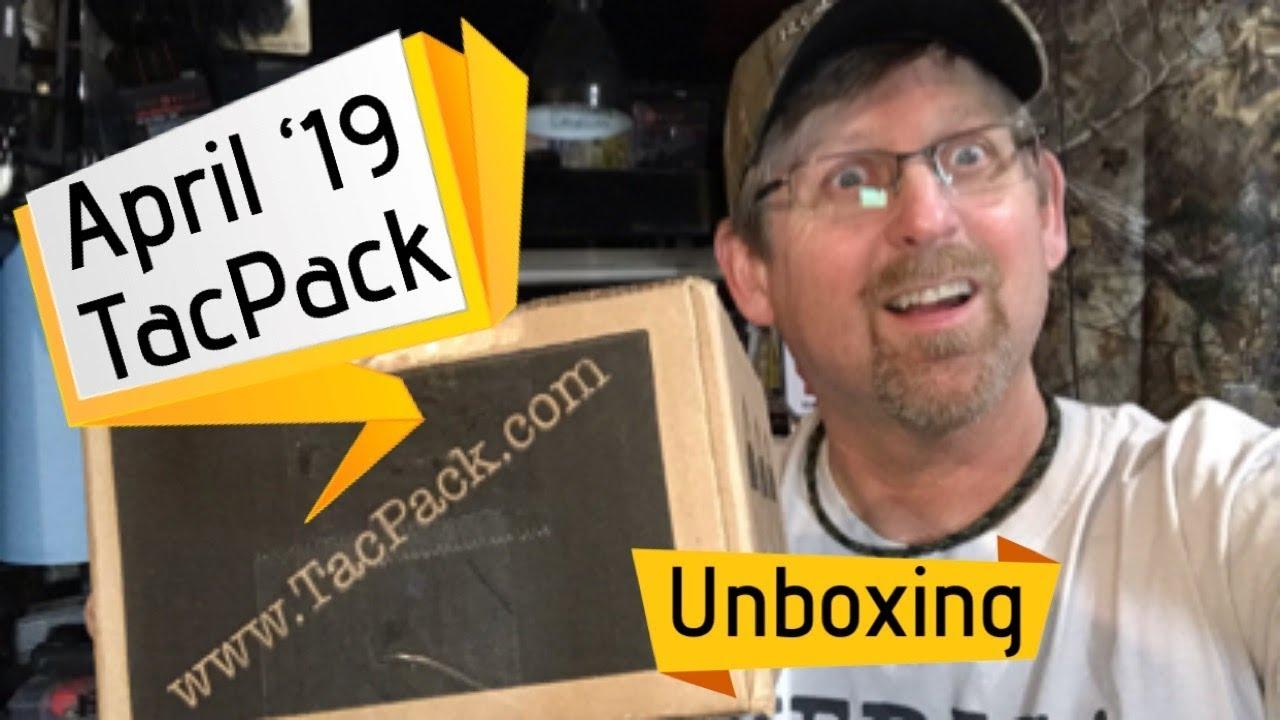 TacPack April 2019 unboxing