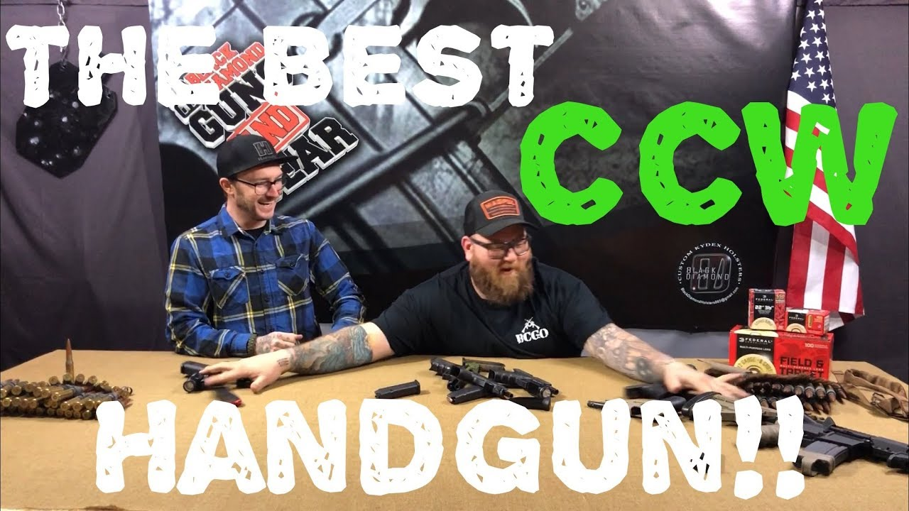 The BEST Concealed Carry Handgun!!