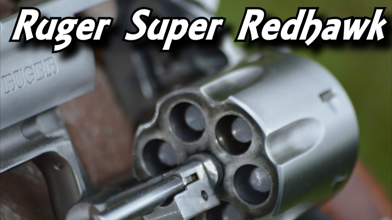 Shooting the Ruger Super Redhawk .44 Magnum