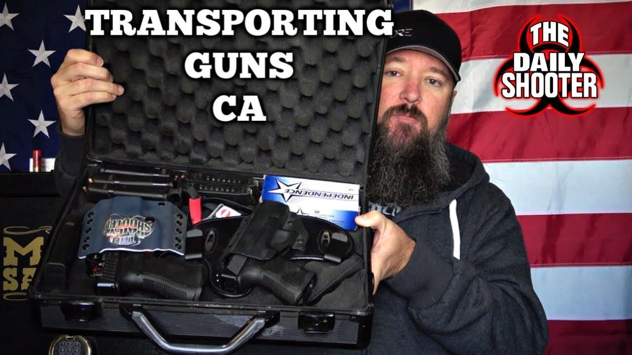 Transporting Firearms in California