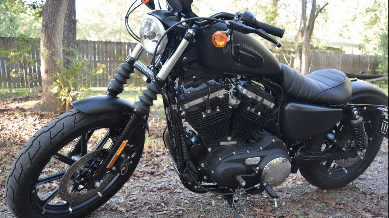 Why The Iron 883 Was My Come Back To Riding Motorcycle!