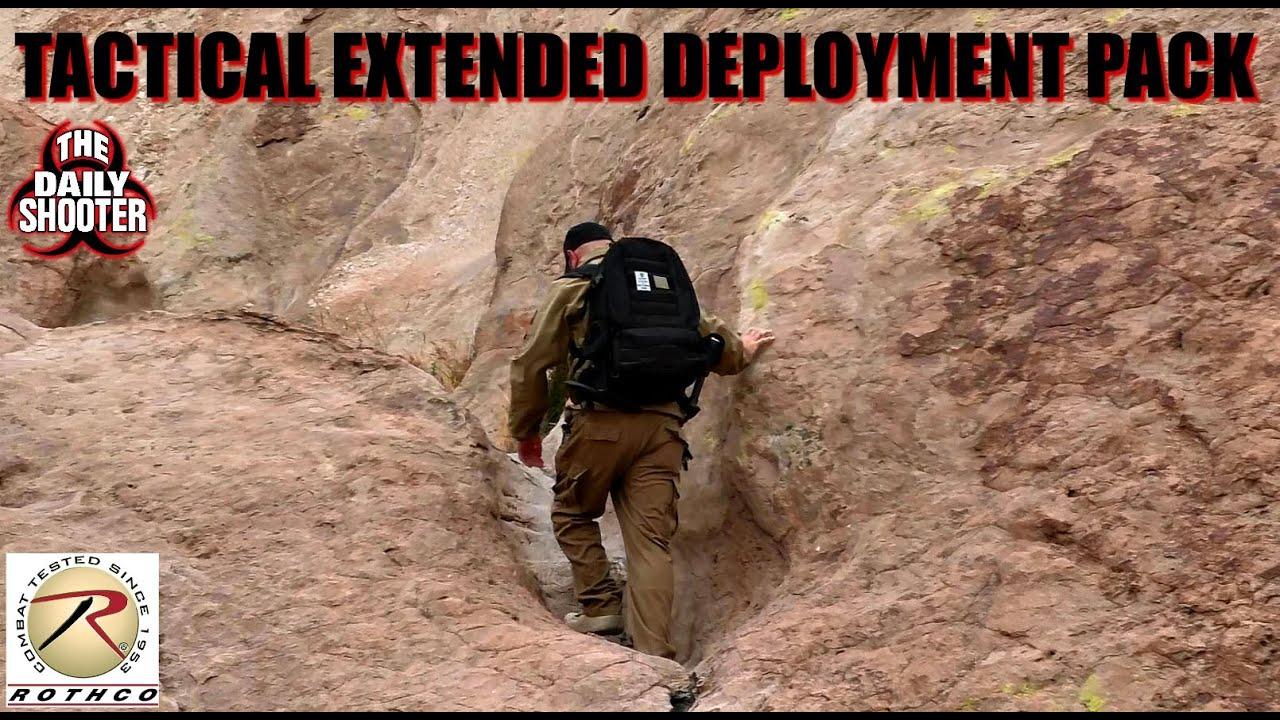 Rothco Tactical Extended Deployment Pack Review