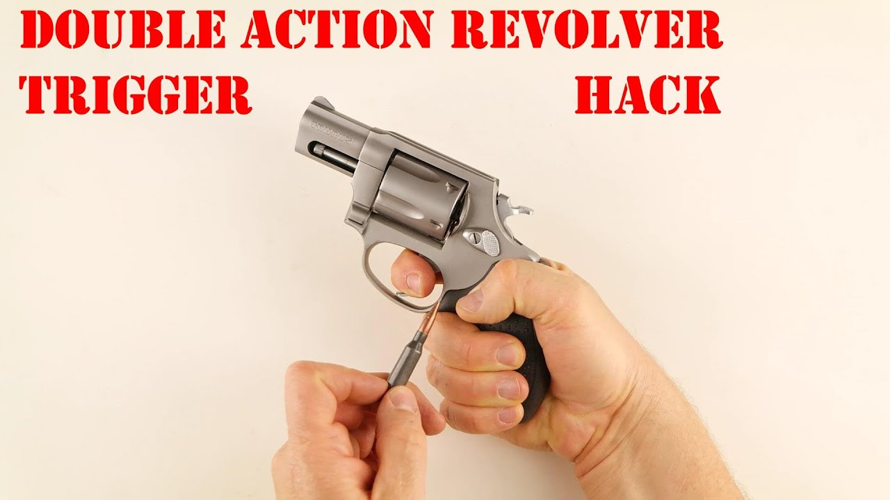 Double Action Revolver Trigger Hack