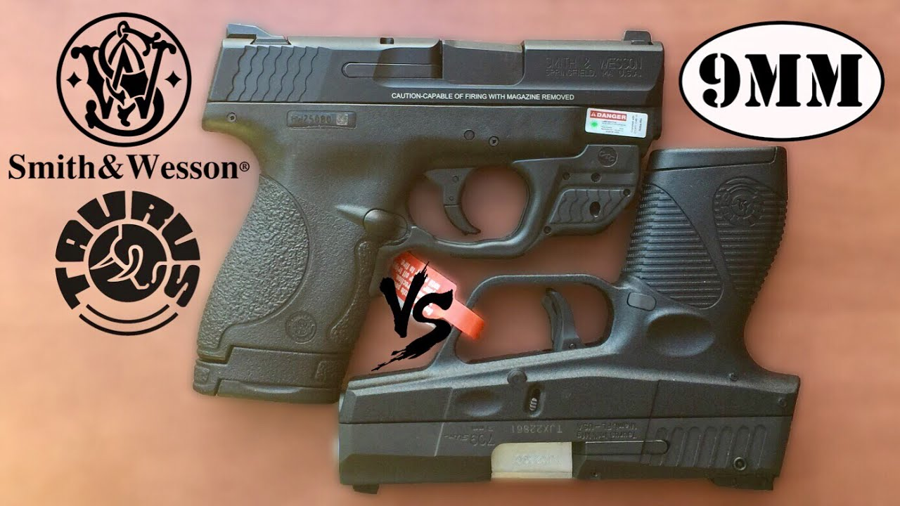 Smith & Wesson Shield Compared With Taurus Slim