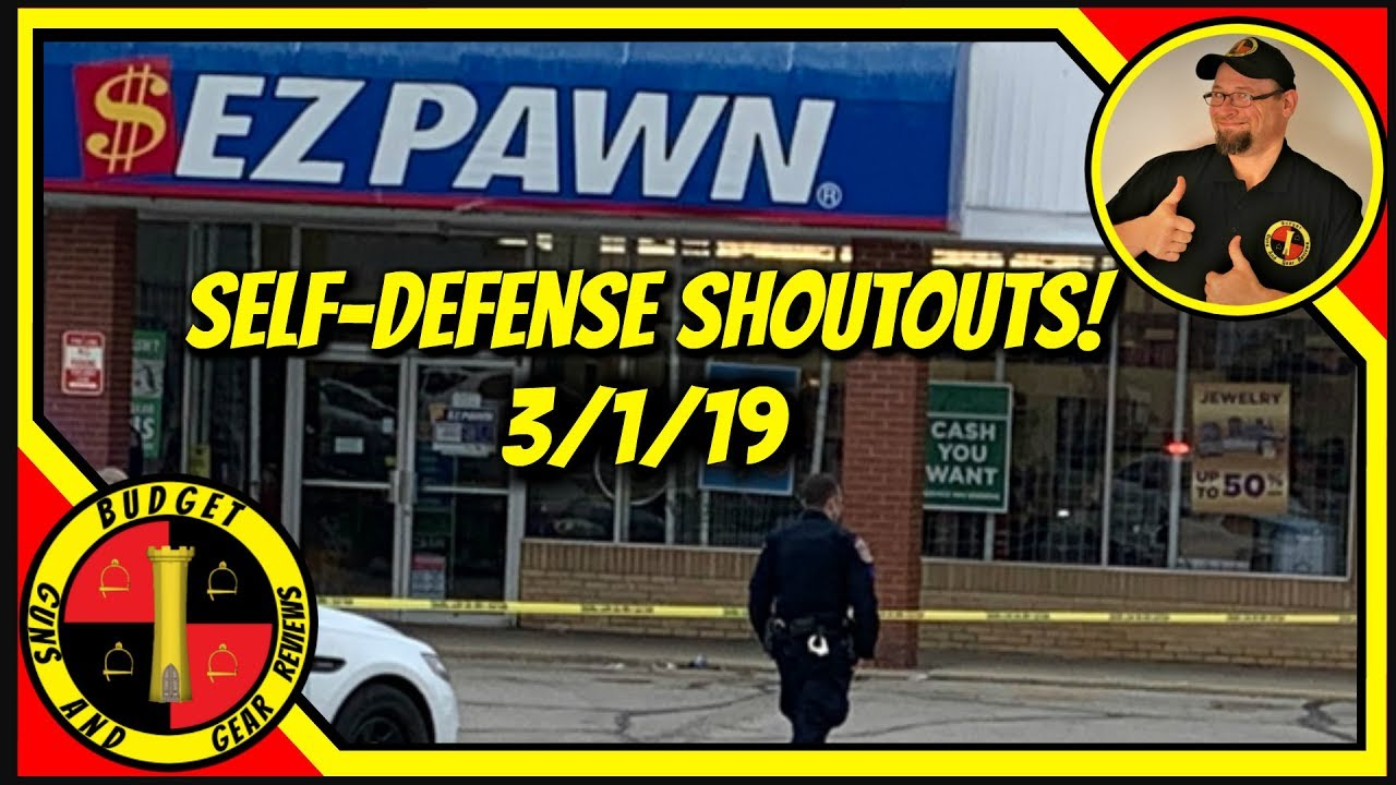Teen Shot In Robbery; iPhone Sale Gone Wrong; Clerk Shoots Robber- Self Defense Shoutouts 3-1-19