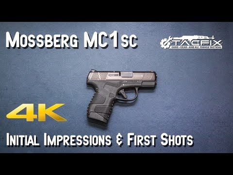 Mossberg MC1sc Initial Impressions & First Shots
