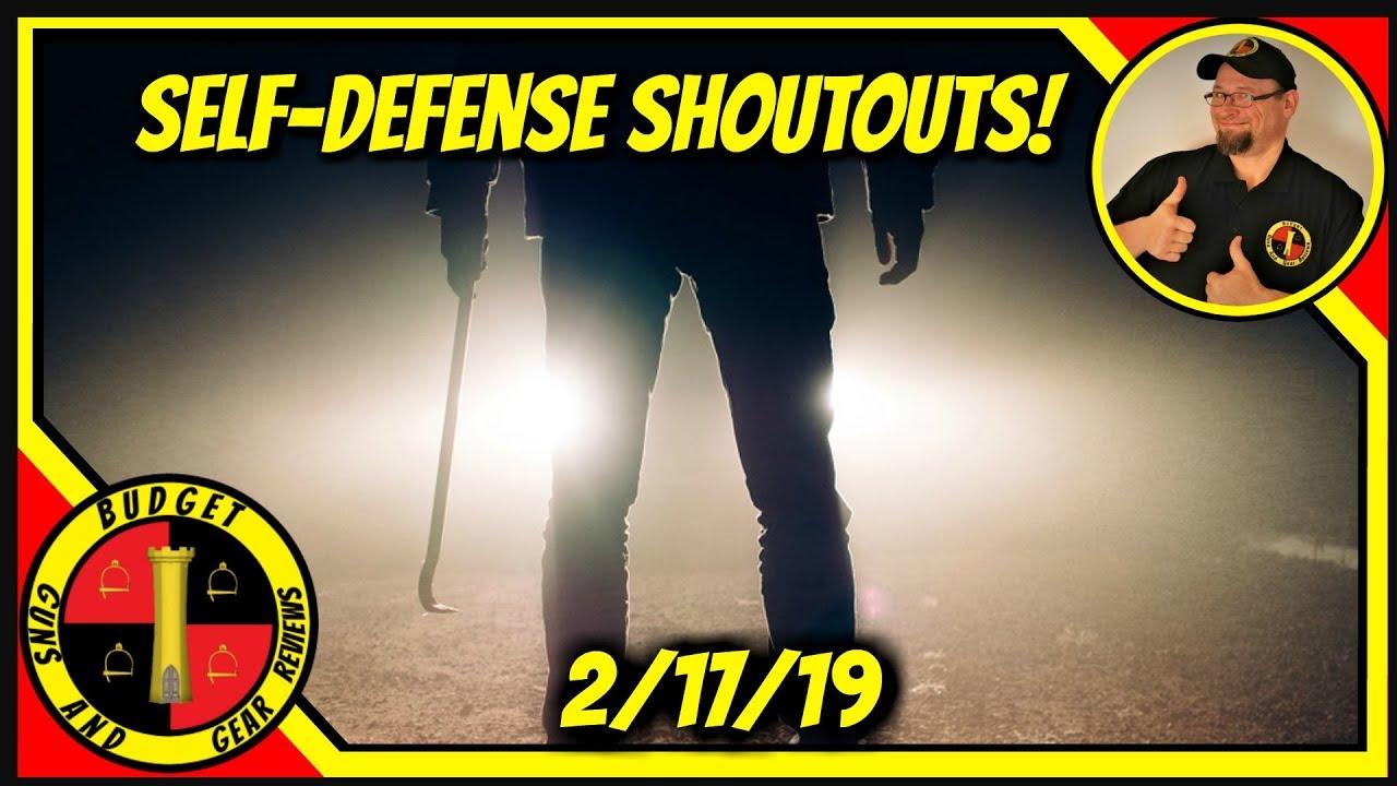 Home Invaders Shot- Mother Held Hostage- Self Defense Shoutouts 2/17/19