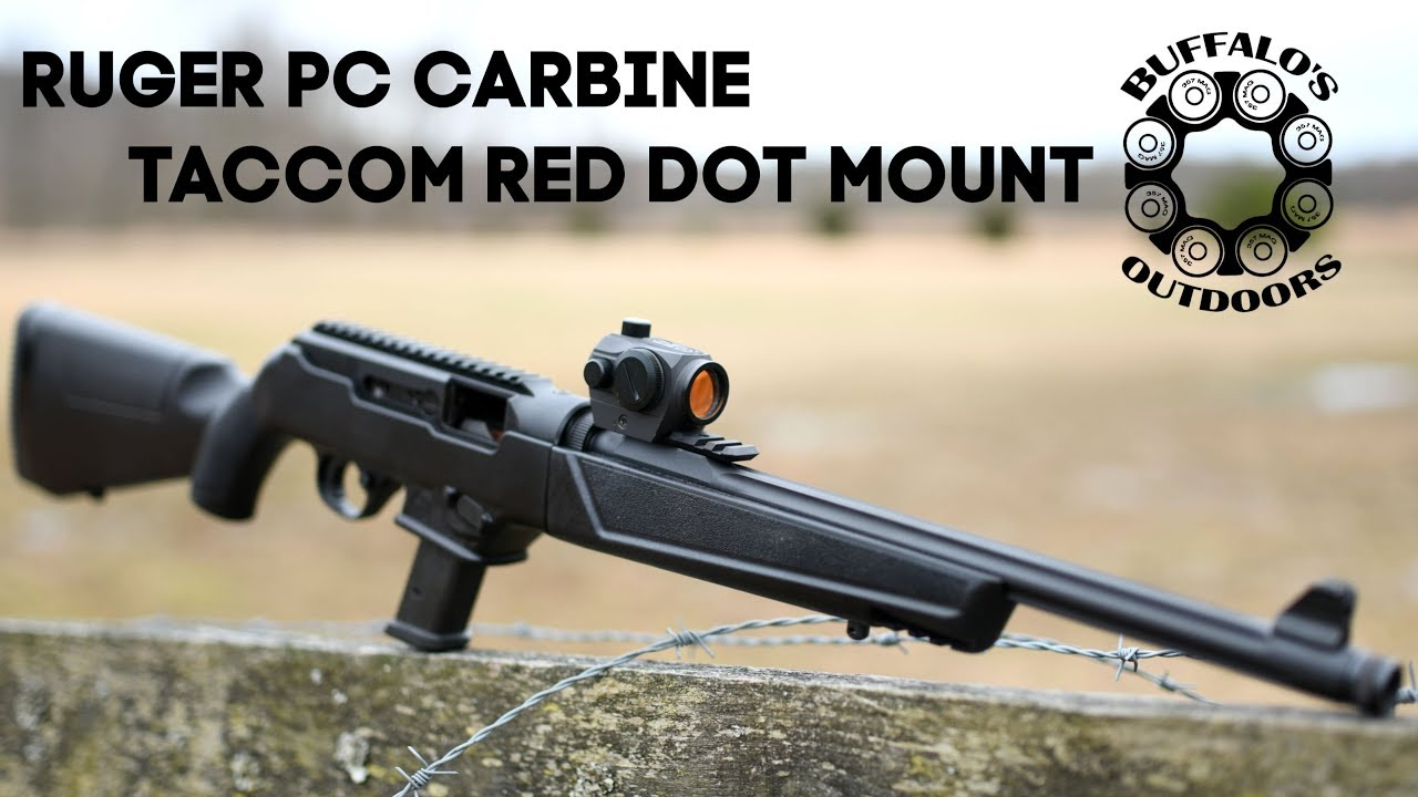 Ruger PC Carbine Optics Rail
