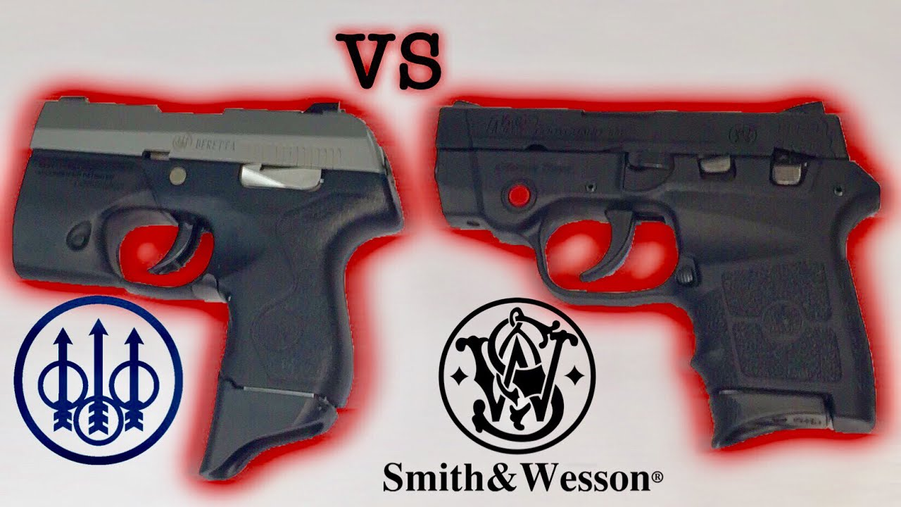 Beretta Pico vs Smith&Wesson M&P Bodyguard