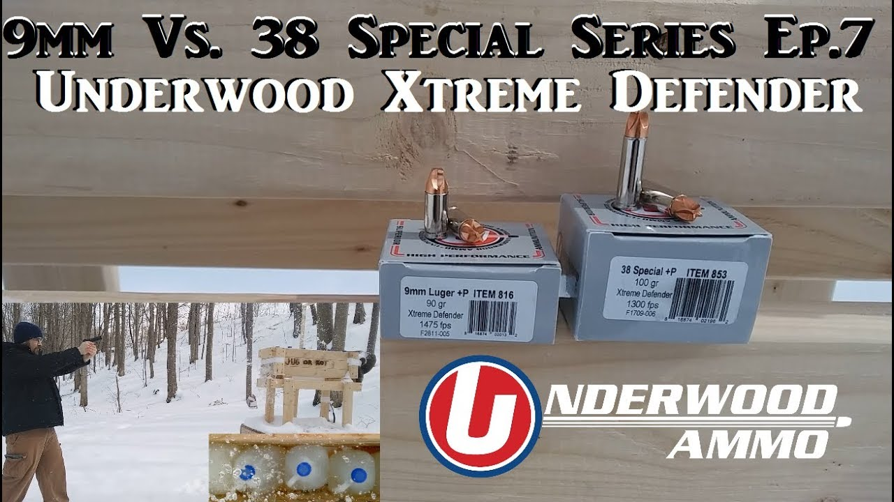 9mm Vs. 38 Special Series Ep.7 - Underwood Xtreme Defender