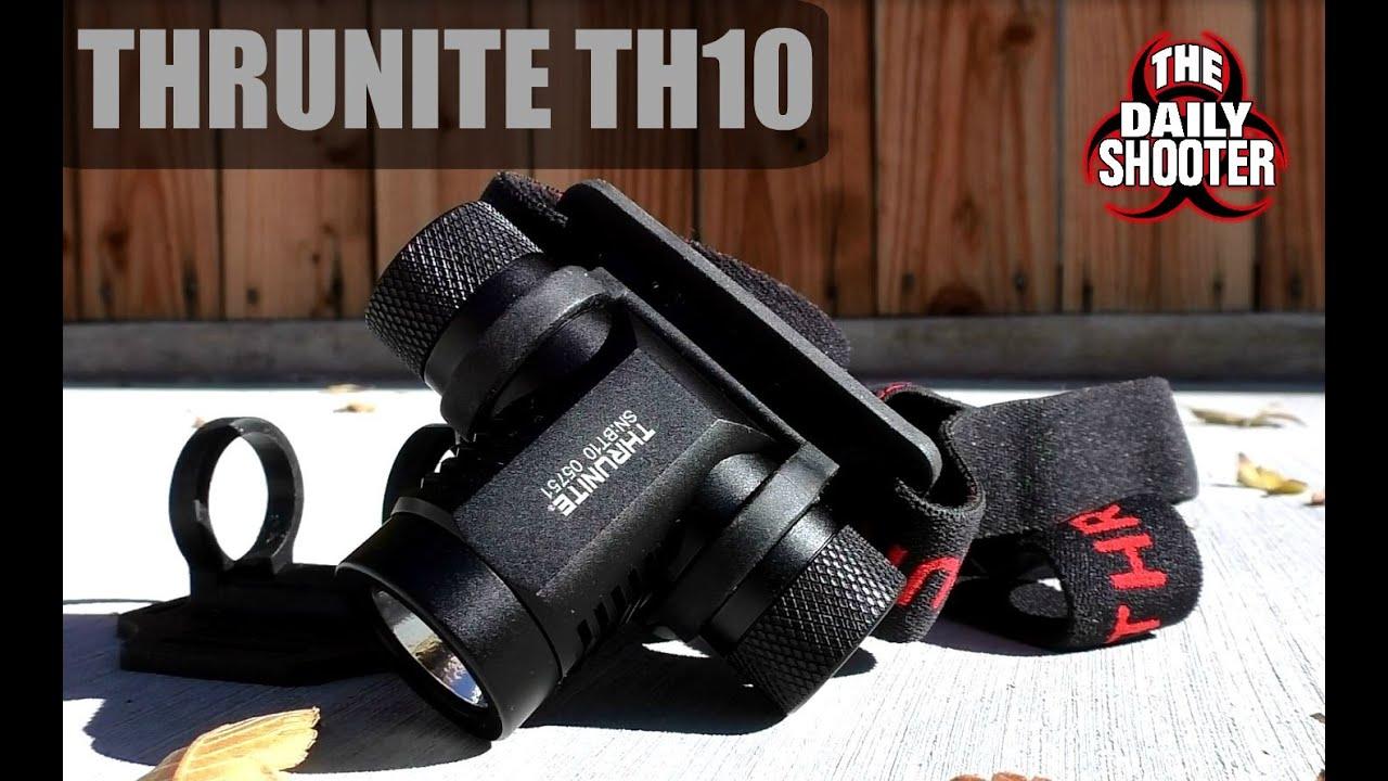 Thrunite TH10 A Spotlight For Your Head