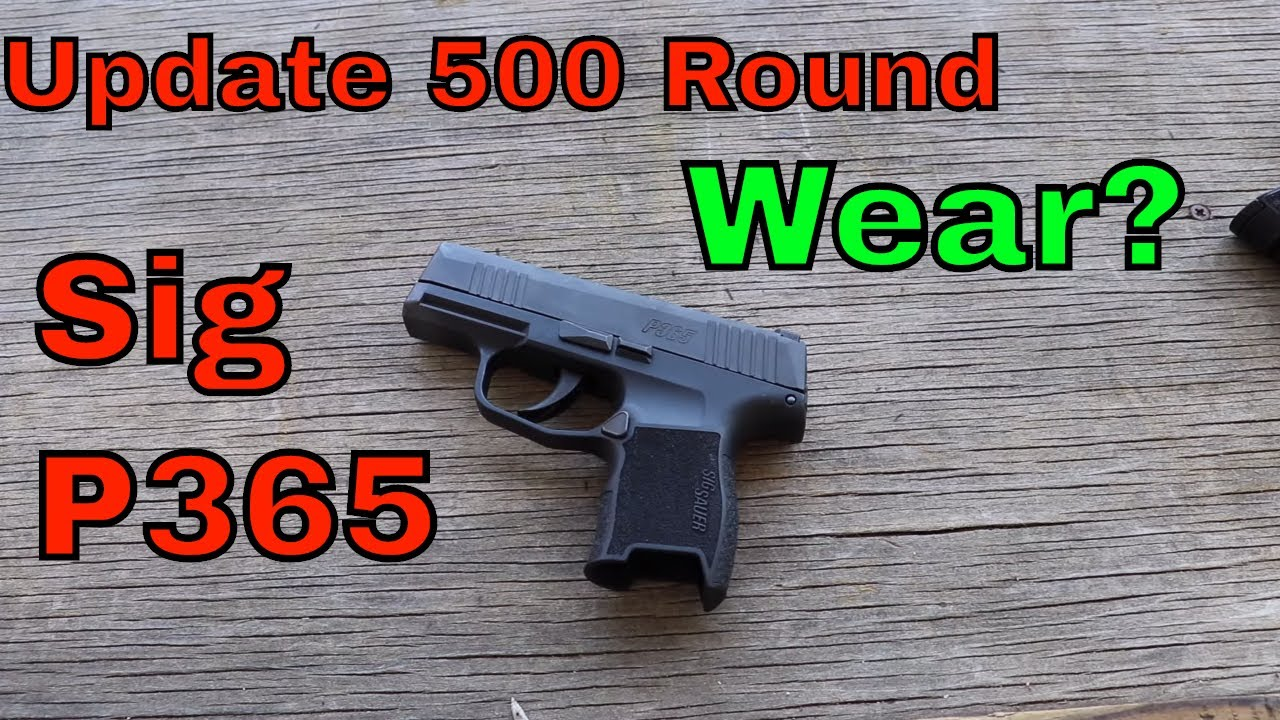 Sig P365 Gen 2: Rounds 500-750 Is this the most accurate