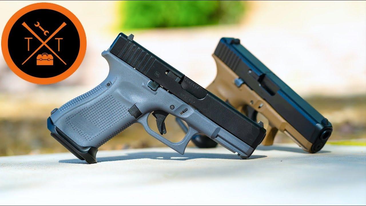 NEW Glock 19 Gen 5 // Grey & FDE Worth It?? (w/Links)