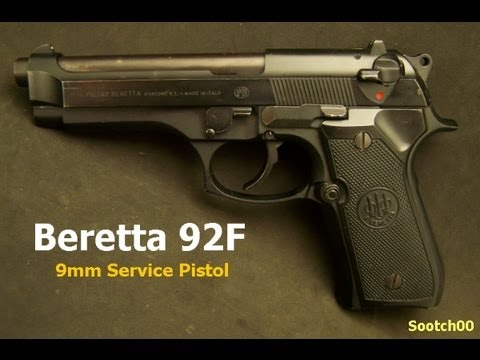 Beretta 92F or M9 9mm Service Pistol