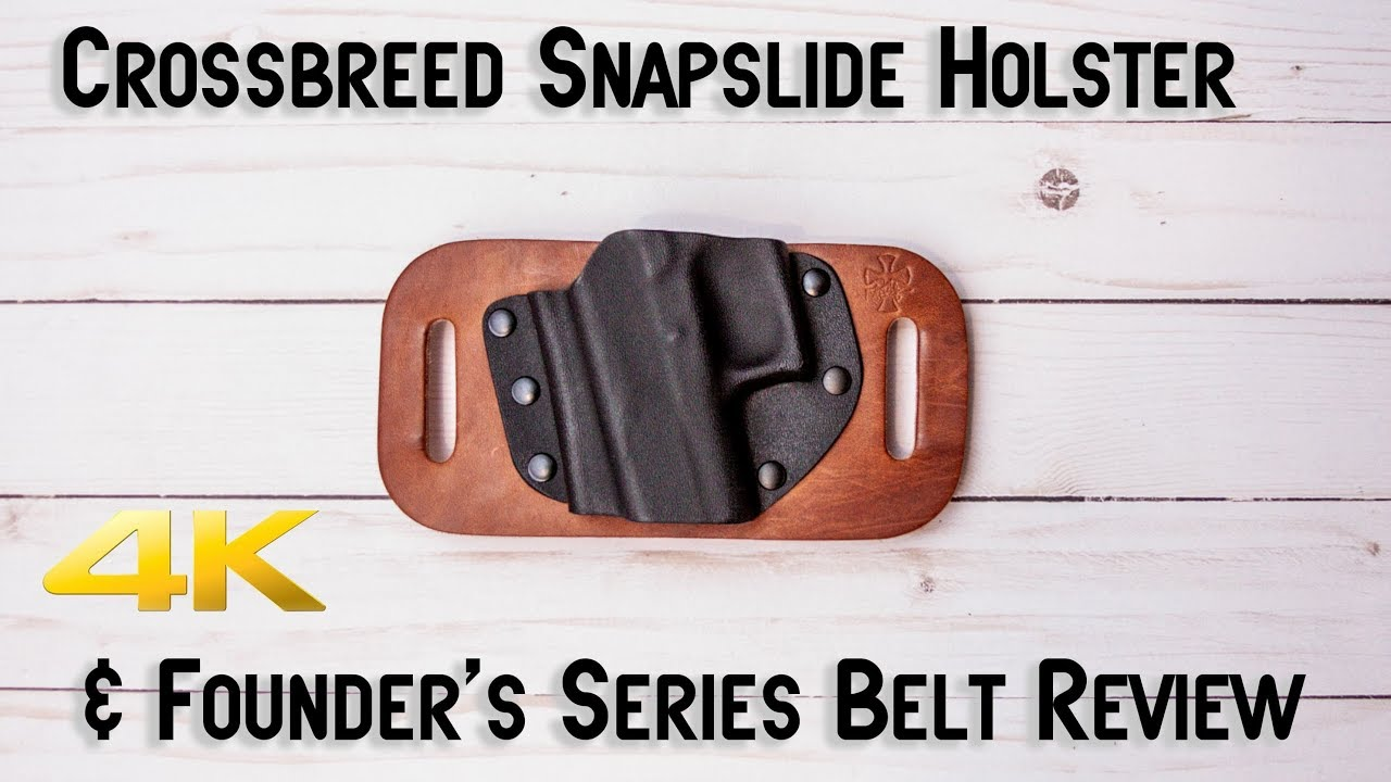 Crossbreed Snapslide & Founder's Series Belt Review