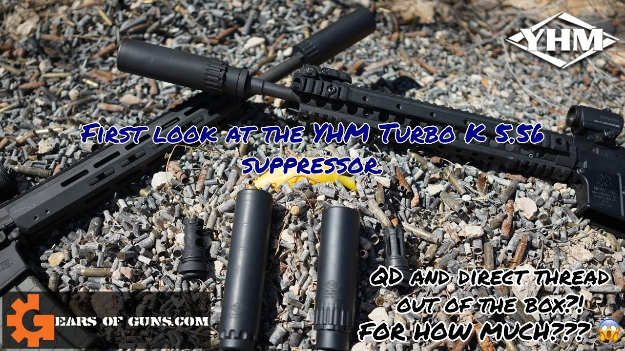 YHM Turbo K Suppressor - A First Look With Chris From YHM