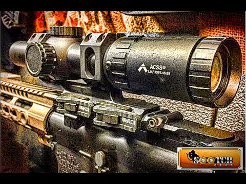 Primary Arms ACSS Gen III 1-6x Scope Review