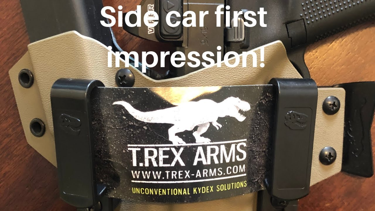 T-REX Arms sidecar holster first impressions review