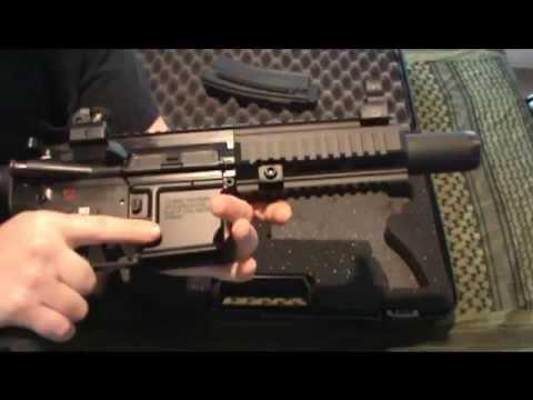 HK 416-22 Range Review & Streamlight TLR-1 HP