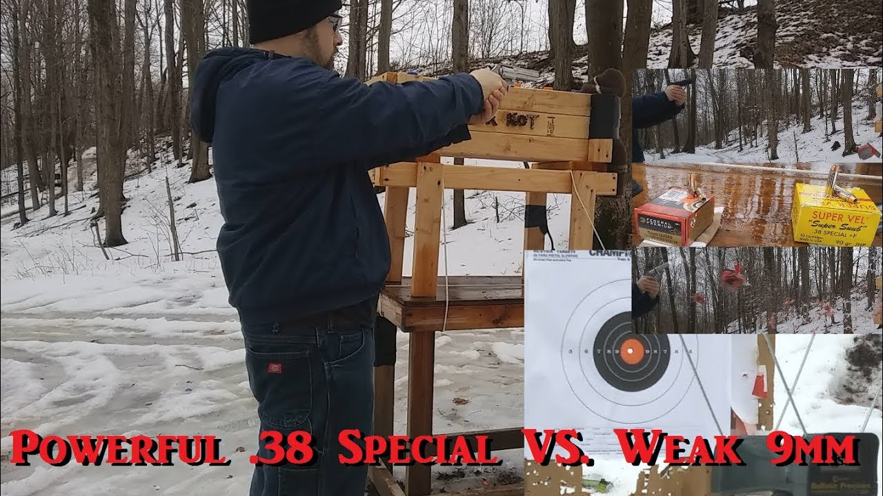 Powerful .38 Special VS. Weak 9mm