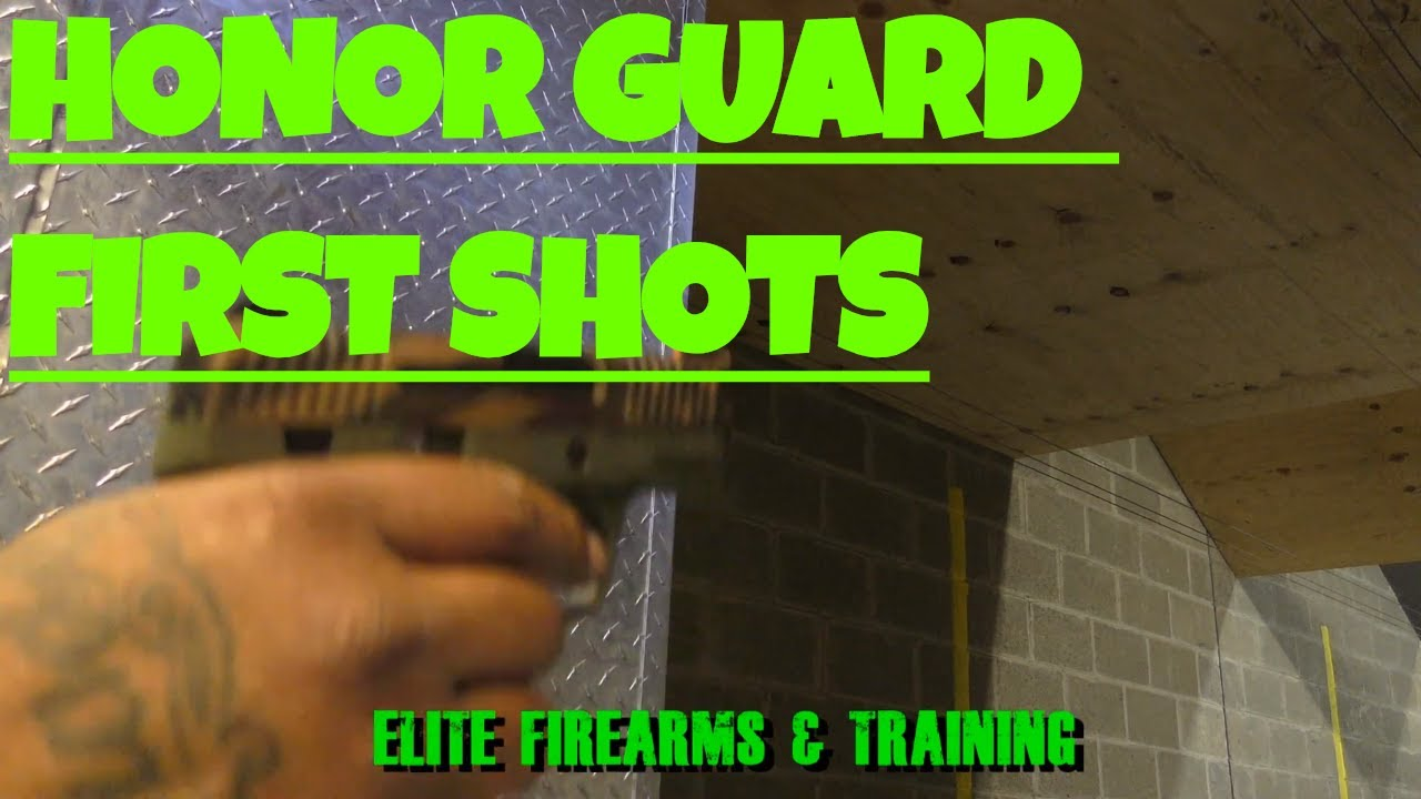 HONOR GUARD HONOR DEFENSE FIRST SHOTS