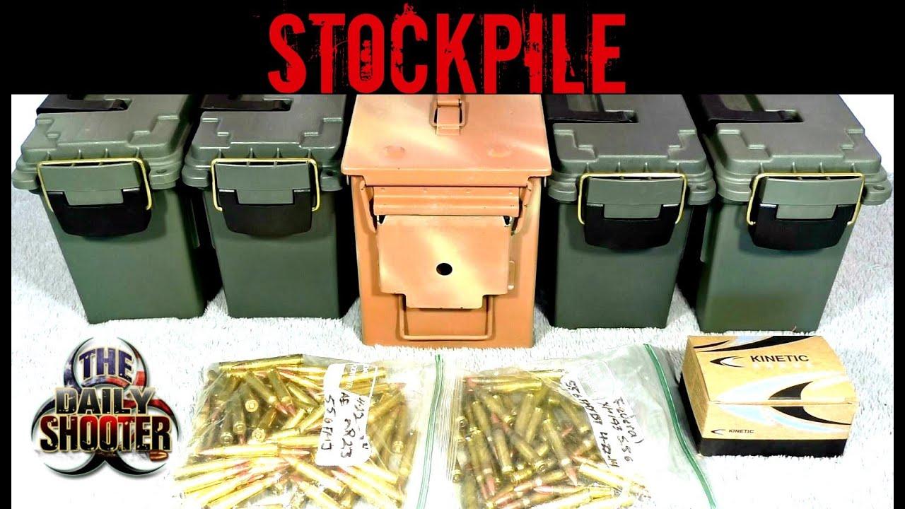.223 / 5.56 Stockpile How much do you keep on hand?