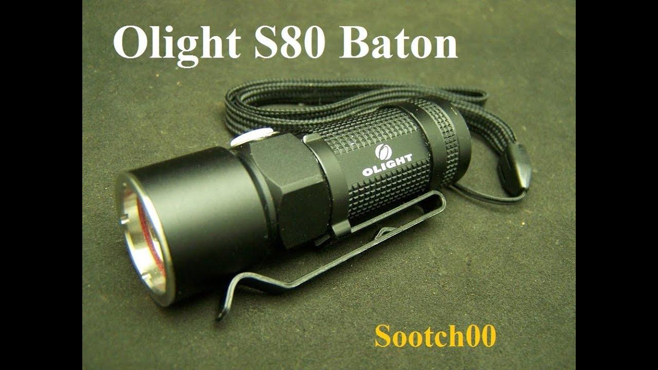 Olight S10 Baton LED Flashlight 300 Lumens EDC
