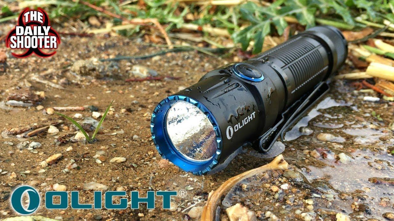 Olight M2T Warrior Flashlight  Review