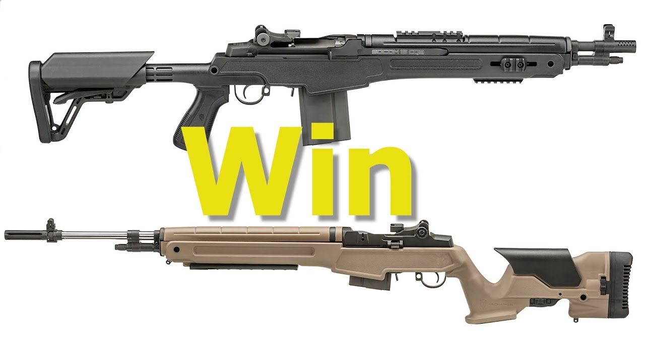 Win one of two Archangel Manufacturing M-14/M1A Stocks