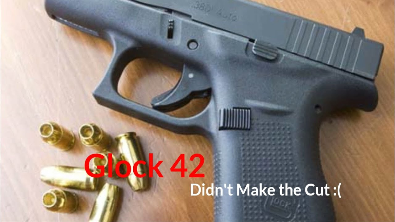 Glock 42...Here Today...Gone Tomorrow :(