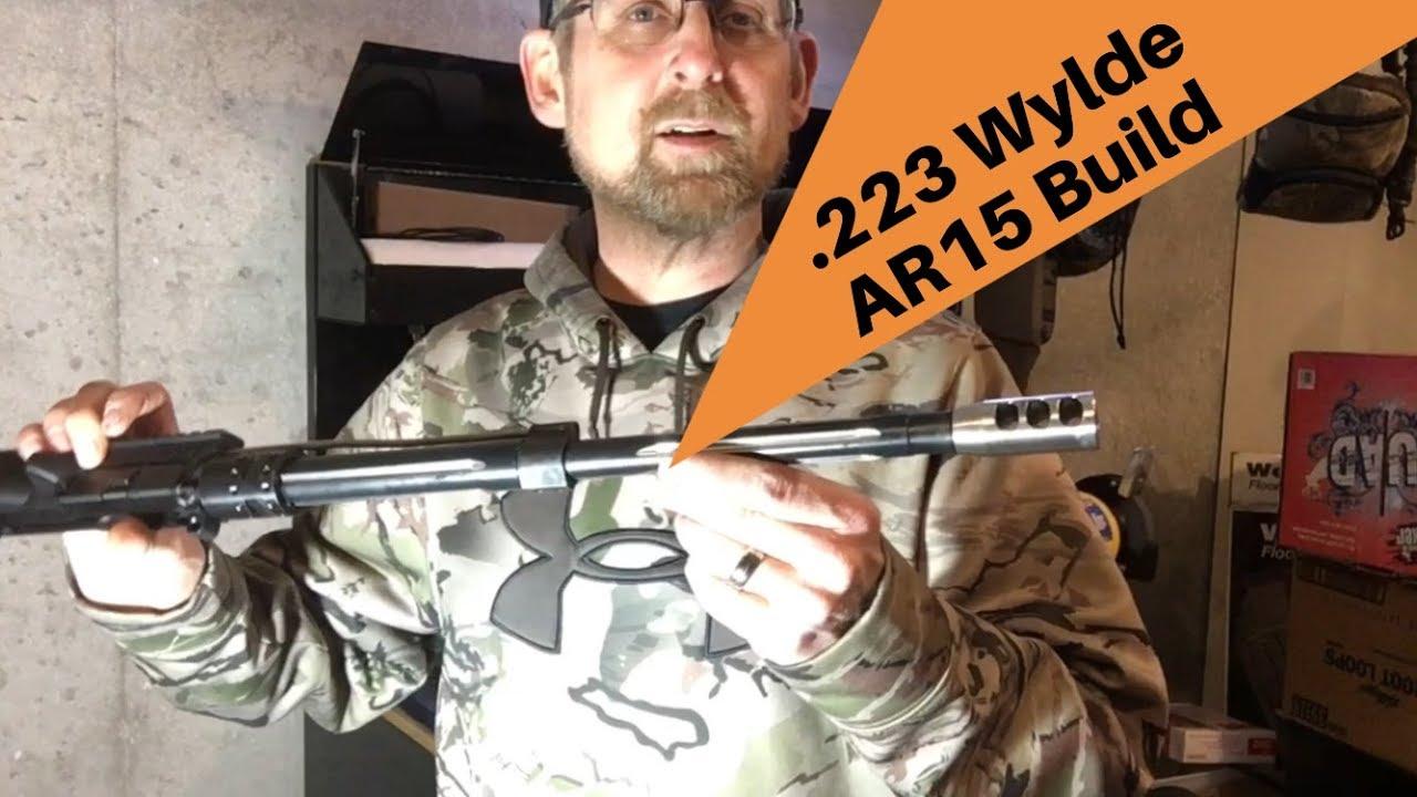 Finishing the .223 Wylde AR15