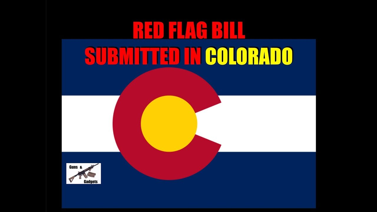 Red Flag Bill Submitted in Colorado