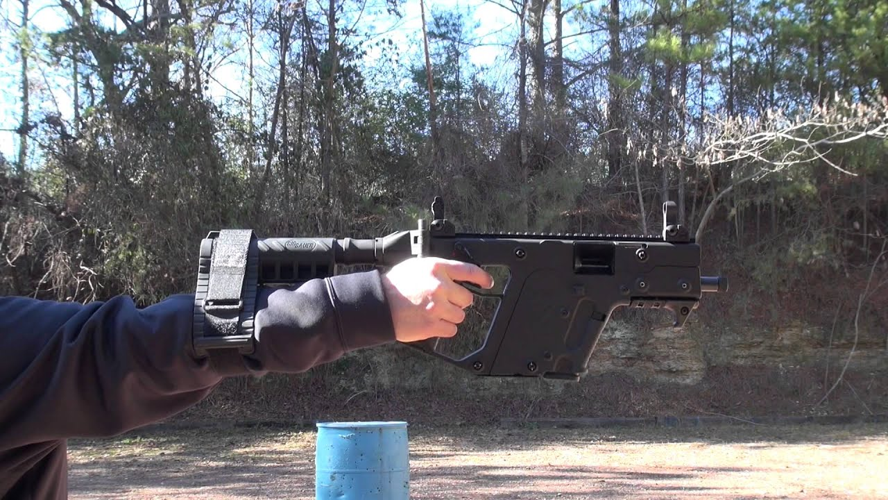 Kriss Vector PSB with the Sig SBX