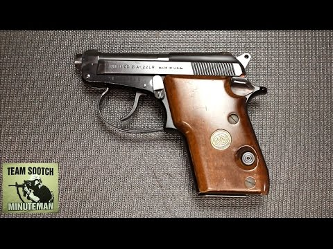 The Best 22LR Pocket Pistol : Beretta Model 21 Bobcat