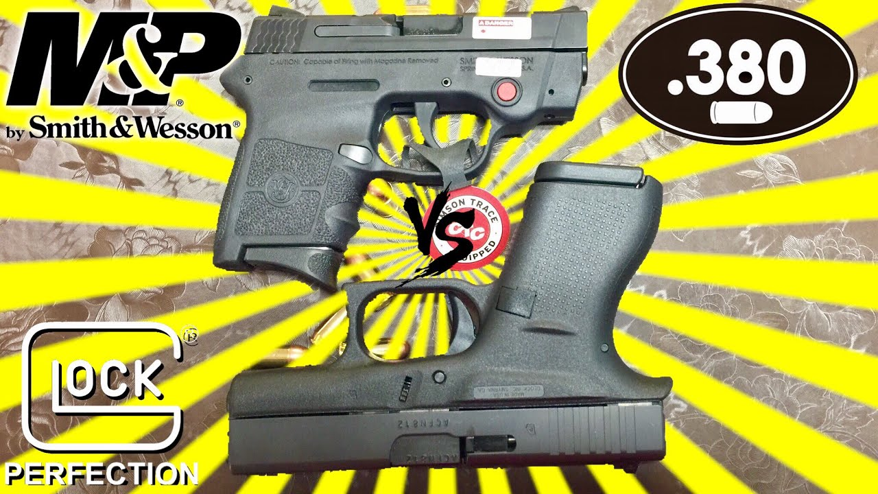 Glock42 vs Smith & Wesson M&P bodyguard