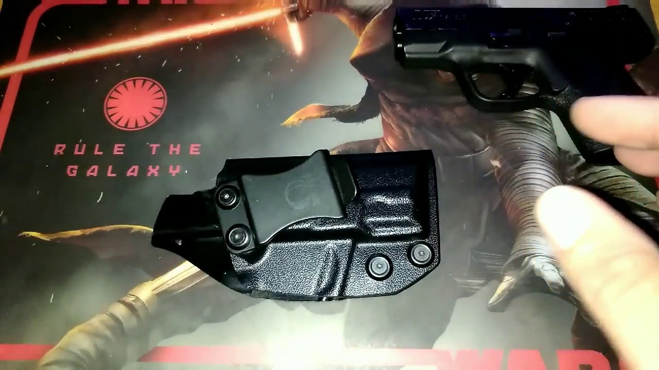 Concealed Carrier IWB Holster Update