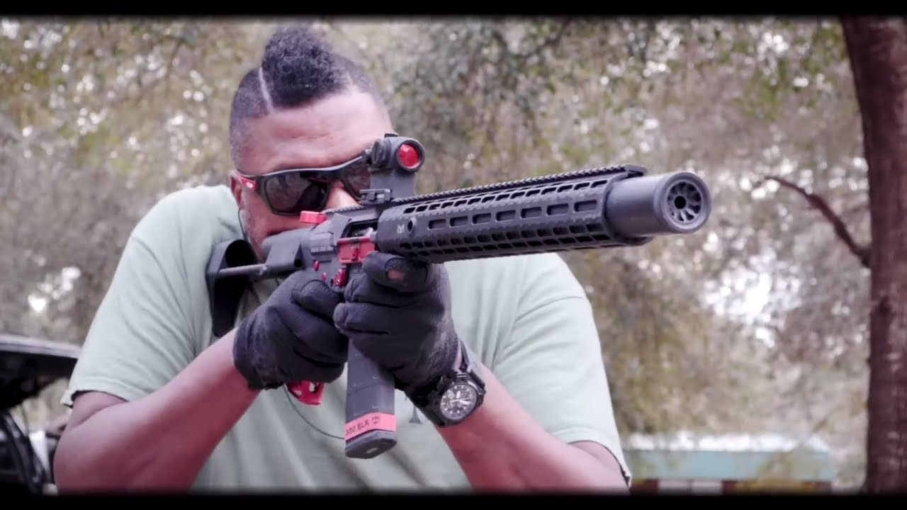 Option B Leonidas 300 Blackout: Liberty Suppressors