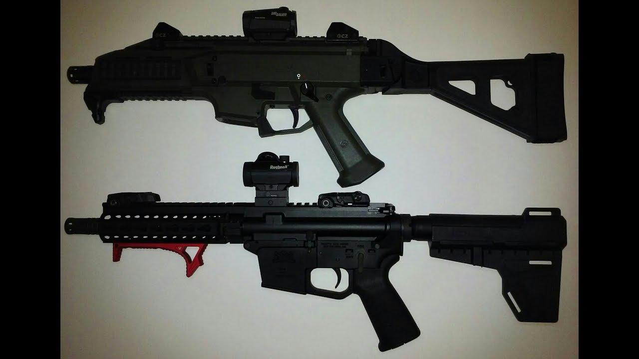 PSA AR9 vs CZ Scorpion