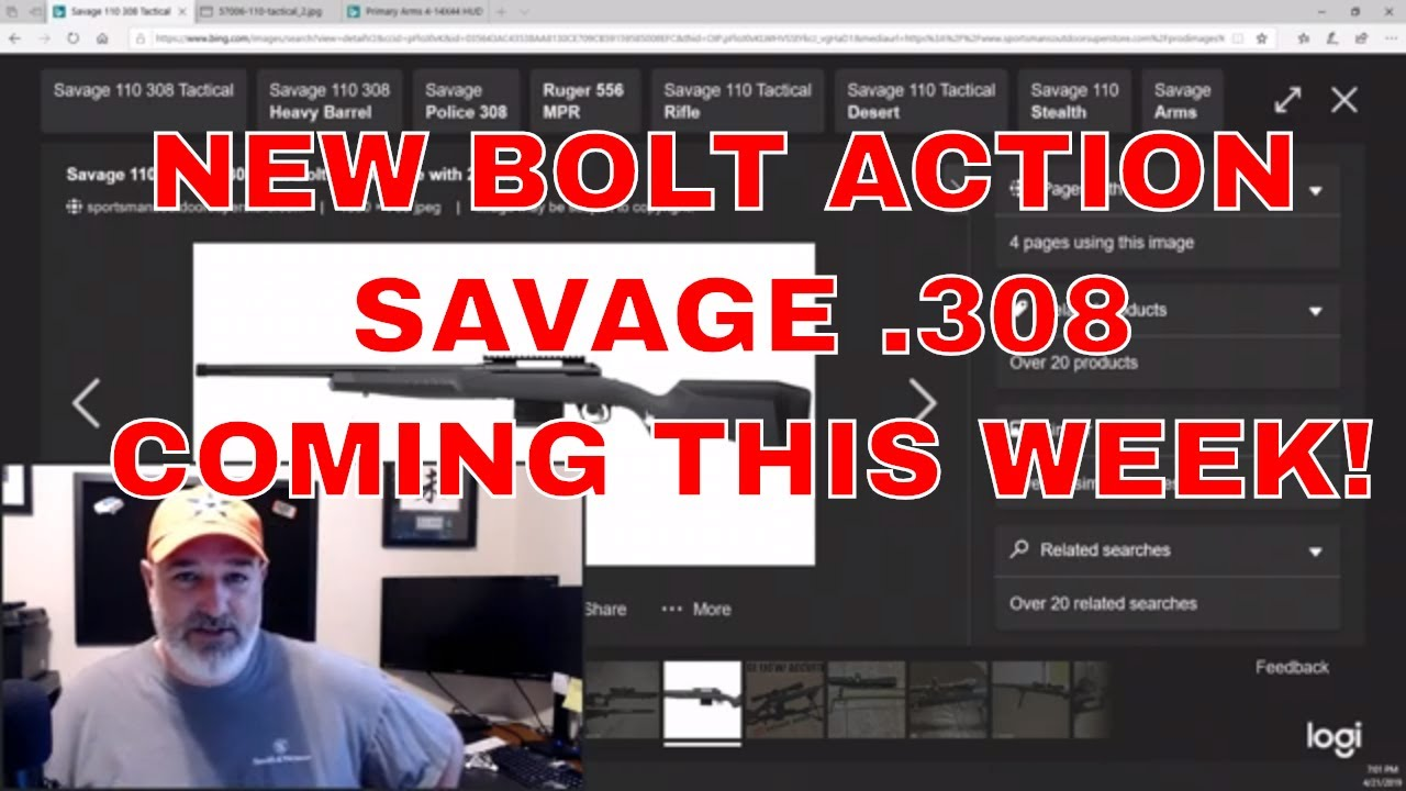 New Bolt Action .308 Coming!!