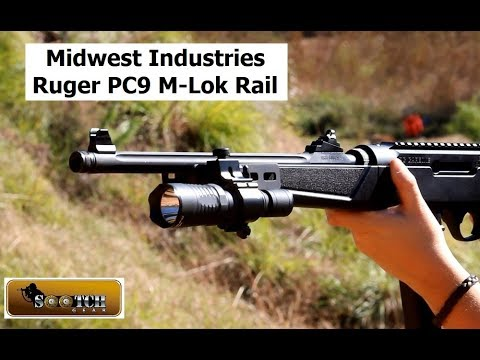 Midwest Industries Ruger PC9 M-Lok Rail Review