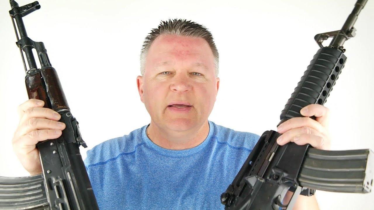 AK47 vs AR15 (AKM vs M4)