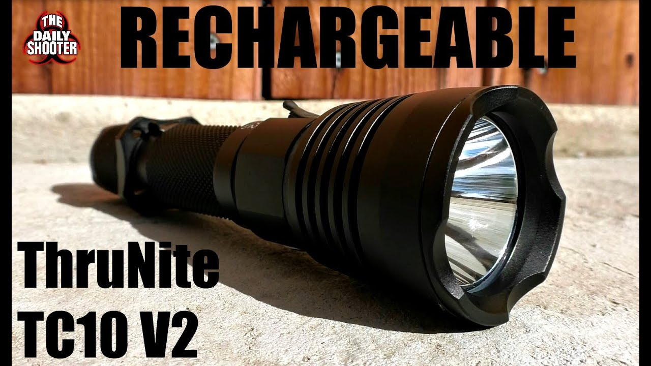 ThruNite TC10 V2 Rechargeable Flashlight Review
